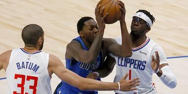 Clippers mit Play-off-Rekord gegen Maverick