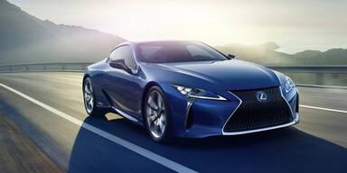 Lexus schickt den LC 500h ins Rennen