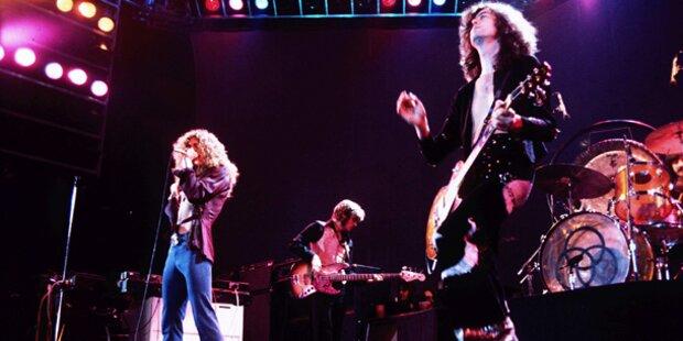 Led Zeppelin legen alle Studiowerke neu auf