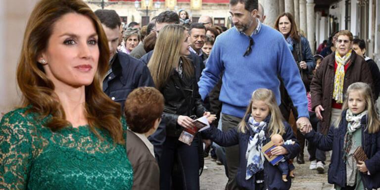 Prinzessin Letizia mischt sich unters Volk