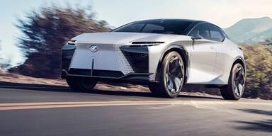 LF-Z Electrified zeigt künftiges Lexus-Design
