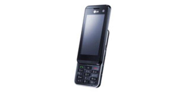 LG KF 700 - luxuriöses Multimedia-Handy