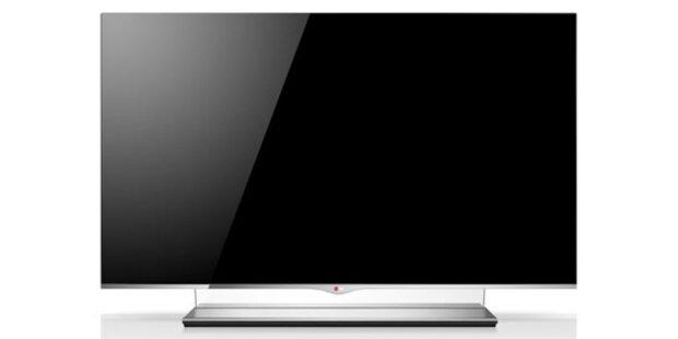 Größter und flachster OLED-TV vorgestellt