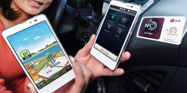LG Optimus LTE Tag mit NFC-Funktionen