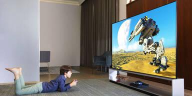 Preissturz bei riesigen 4K-Fernsehern