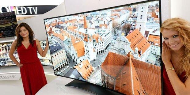 LG zeigt größten UHD-OLED-TV der Welt