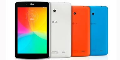 LG bringt G Pad 8.0 und 10.1 an den Start