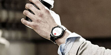 LG schickt die G Watch R an den Start