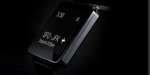 Neue Informationen zu LGs Smartwatch