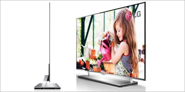 LG zeigt OLED-TV-Flaggschiff in Österreich