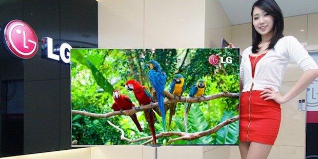 TV der Zukunft nur 4 Millimeter dick
