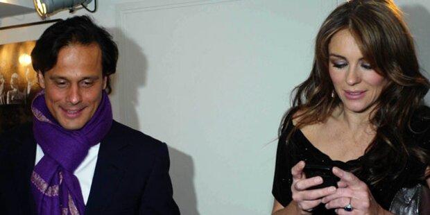 Liz Hurley: Peinliche Begegnung mit Ex-Mann