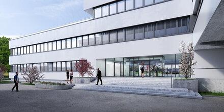 BMW legt Grundstein in Maxglan