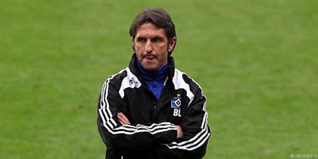 Hamburger SV trennte sich von Trainer Labbadia