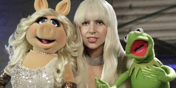 Lady Gaga feiert X-Mas mit den Muppets