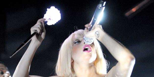 Lady Gaga versext Österreich