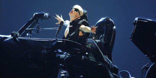 Lady Gaga rockt YouTube Music Awards
