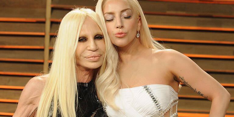 Lady Gaga als Donatella Versace im TV