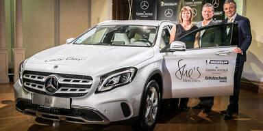 Neuer GLA für Österreichs beste Autofahrerin