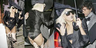 Lady Gaga: Halbnackt ins Nachtleben