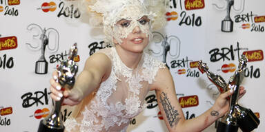 Lady Gaga räumte bei Brit Awards ab