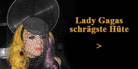 Lady Gaga designt Hüte