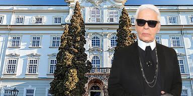 Lagerfeld landet in Salzburg