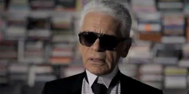 Karl Lagerfeld - Jetzt rappt er!