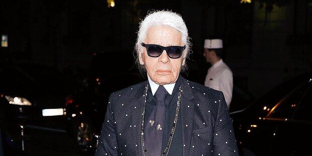 Dienstag steigt Lagerfelds Supershow