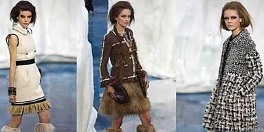 Lagerfeld bot bei Chanel sein ganzes Können auf