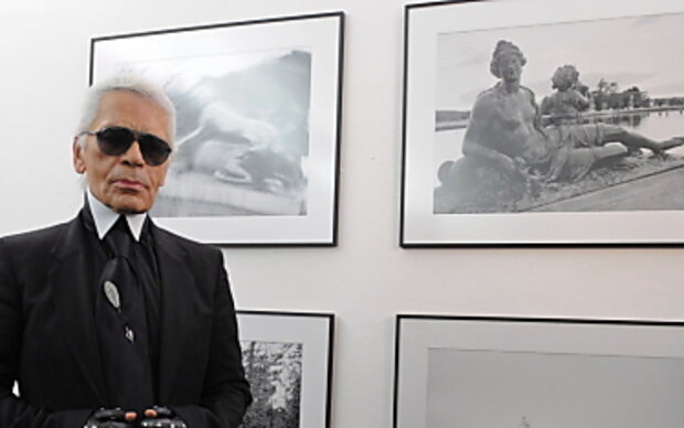 Karl Lagerfeld kündigt Großes an