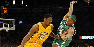 Lakers von Celtics gestoppt