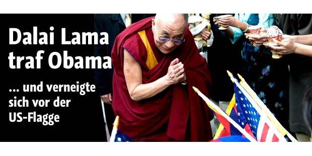 Barack Obama traf Dalai Lama