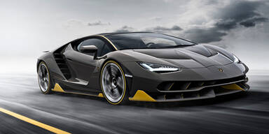 Lamborghini bringt den Centenario