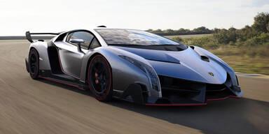 Lamborghini Veneno im Stealth-Fighter-Look