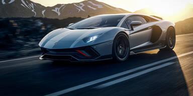 Lamborghini Aventador zum Abschied noch schneller