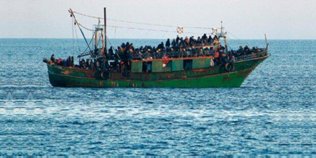 58 ertrunkene Flüchtlinge angespült