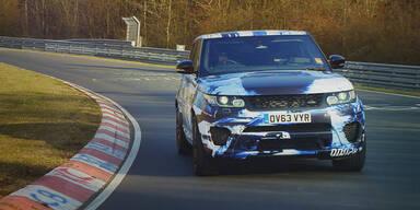 Range Rover Sport kommt als SVR