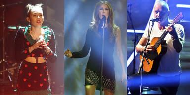 Cyrus, Dione, Sting