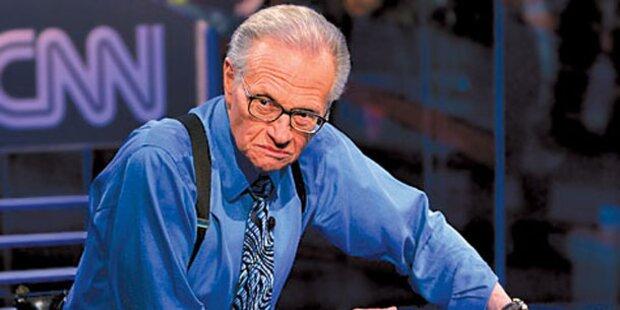 Talkmaster Larry King wird russischer TV-Star