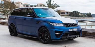 Range Rover Sport mit 400 PS Diesel
