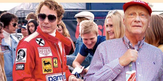 Niki Lauda goes Hollywood