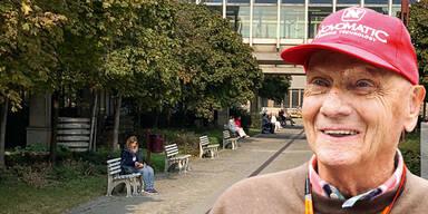 Niki Lauda schickt Grußbotschaft ans Mercedes-Team