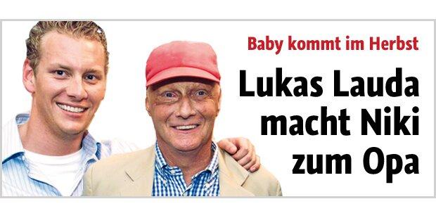 Lukas macht Lauda zum Opa