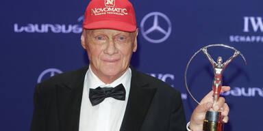 Panne: Lauda verliert Laureus-Award