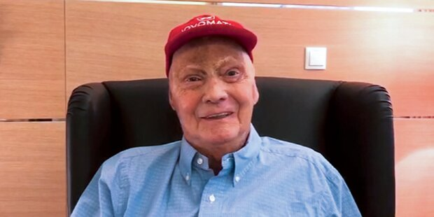 Niki Lauda: Erstes Foto nach Lungen-OP