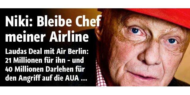 Air Berlin geht bei NIKI auf 49,9 Prozent