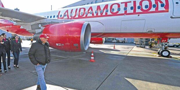 Laudas Airline in Gefahr
