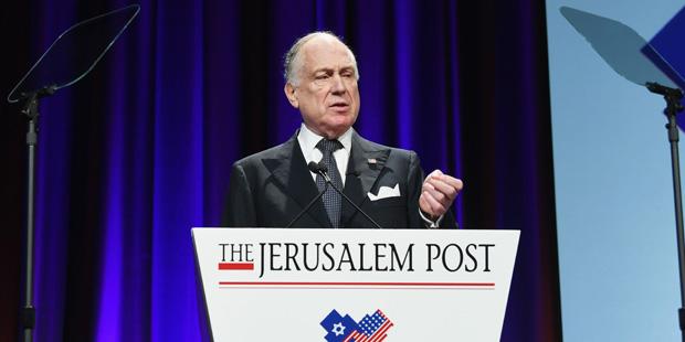Ronald Lauder Jüdischer Weltkongress