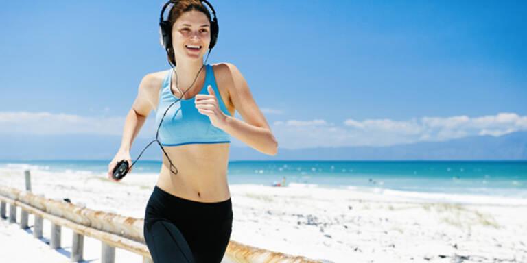Laufen Joggen Songs gesund Sport Fragen